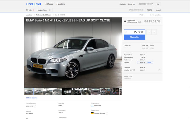 How To Buy Cars At Auction >> How To Buy Caroutlet Eu